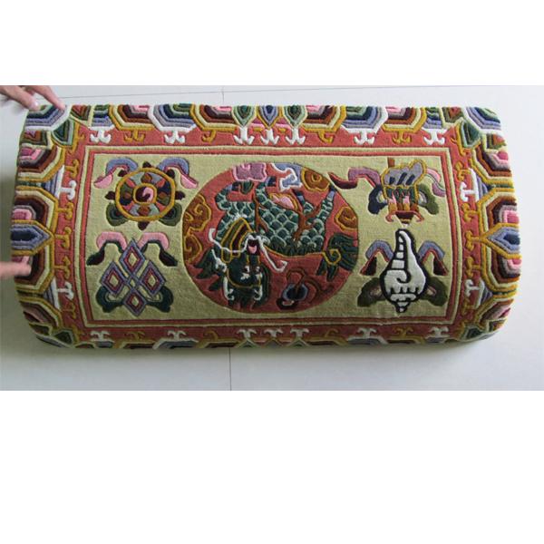 西藏藏式靠毯