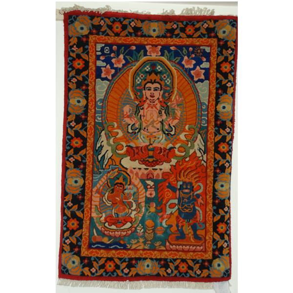 拉萨藏式挂毯