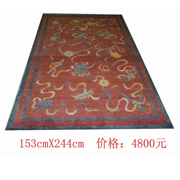 西藏藏地毯